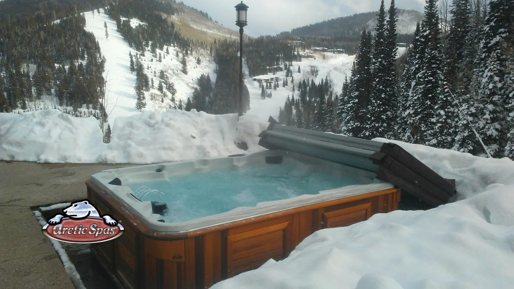 Epic Summit XL Arctic Spa in winter